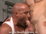 It's Boys on Man In This Threeway Gym-set Threeway Fuck. Watch Young Jock Hotties Mason Wyler and Devin Bleu Inflict Some Youthful Enthusiasm Into Steve Carlisle's Muscled Ass. It's Intergeneration Action to Die For.