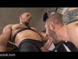 Tattoed and Muscular Fucker Harley Everett Is Hunting for Arses In the Ruin of an Abandoned Building. Sweaty Geoffrey Is Just the Right Prey for Him. Geoffrey Is More Then Happy to Get His Mouth and Arse Feed With Harleys Fat Pipe. Gay Porn In Juicy Cazzo Style