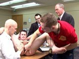 Footballer Ass Exam || 