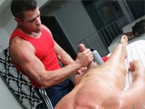 Gay Porn from gayroom - Looothen-Up-Those-Ligaments-7