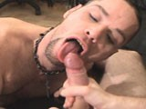 Check Out David Sucking Off His Straight Buddy's Dick and Swallowing His Hot Load Exclusively At Sebastian's Studios.