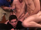 gay porn The New Guy Has A Big  || When a New Guy, Jackson, Joins Our Frat, We Decided to Throw Him a Little Welcome Party to Show Him How Things Go Down At Fraternity X. Dayton and New Guy, Jackson, Feed Their Big Dicks to This Hungry Cocksucker, Ayden. Dayton's Got a Big Cock, but This New Guy Isn't Just Big, He's Thick. This Poor Butt Boy Whimpered and Squirmed While My Buddies Boned His Ass and Throat. and Jackson Literally Fucked the Cum Out of This Cocksucker, Then He Shot His Thick Load of Spunk All Over Him. Dayton Jumped In and Sprayed His Watery Load All Over Ayden. That's How It's Done.