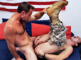 gay porn Firefighter Mikey &amp || All American Heroes Present Firefighter Mikey & Special Ops Robert