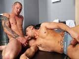 gay porn Brenn And Phenix Saint || Phenix Just Lost His Wrestling Match and Is Really Bummed About It. Brenn Sees the Desire and Potential In Him and Offers to Give Him Some Assistance. While They Are Down on the Ground Holding Each Other Tightly, Brenn Offers Some Additional Services Off the Mat as Well.