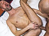 Bottomslut Michael Gets a Hard Treatment by a Fat Arabian Cock