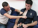 gay porn Firefighter / Emt Madd || All American Heroes Present Firefighter / EMT Maddock & Petty Officer Tanner