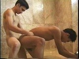 Gay Asian Bathtub Sex ||
