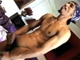 gay porn Black Guy Wanking || Horny Thug Wanking His Monster Schlong