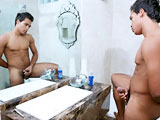 gay porn Brunhino || Brunhino is back to give us a look at that toned bod and thick, juicy cock in this all-new video. Watch this gorgeous piece of Latin meat in all his glory, playing up to the camera. What a stud.