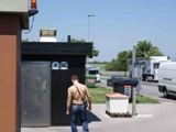 gay porn Truckstop Dirty Toilet || on the Way to the Toilet,we Saw This Boy Sitting Nearby,but the Chair Was Not Good for Fucking,so We Waited Until We Saw Him Go Into the Toilet