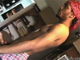 gay porn Thug Stripper || Hunky Thugs Stripping and Playing With His Huge Penis on the Computer Room