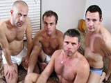 Gay Porn from WankOffWorld - 4-Way-Amateur-Romp