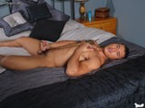 Lying Back on the Bed, 19 Year Old Dante Escobar Caresses His Body, Taking Hold of His Manhood and Begins One Hell of an Intense Jerk Off Show for You!