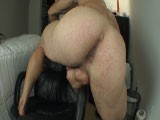 gay porn Hot Latino Shaking His || Alain Lamas Shakes His Smooth Trimmed Ass Showing Off His Pinik Asshole and Stroking His Cock Until He Bust a Fat Juicy Nut