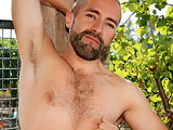 gay porn Nicolas Torri || Furry, bearded and highly sexed - French stud Nicolas loves showing us his thick, uncut cock and 'cock-milking' arse. Bearded Nic has a bit of a sneaker fetish going on, and as he strokes his pierced cock, rolling back the thick foreskin to reveal a huge head and fingers his hungry, hairy hole, he sniffs his sneakers, which gets him even harder, and the pace quickens until he's pounding his meat with his fist and grunting as he unloads right onto them, soaking the laces in cum.