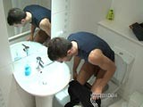 Gay Porn from SneakyPeek - Dude-Caught-On-Toilet