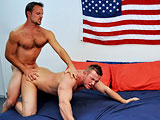 gay porn Firefighter Mikey & Civili || All American Heroes Present Firefighter Mikey & Civilian Devin