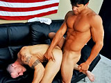 gay porn Civilian Fabian & Petty Of || All American Heroes Present Civilian Fabian & Petty Officer Clayton