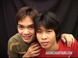 Cute Asian Twinks In Suck-fuck || 