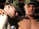 Military Cute Twink Gives Blowjob and Gets Anally Hammered on Their Barracks
