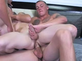 gay porn Austin Carson &amp || Active Duty's sexy new recruit Carson is back and ready to take things to the next level. This animated, fun-loving, ripped stud is one hell of a package and I knew it wouldn't be long before he was crossin' the line. He's a daredevil and always up for a good time. Being the life of the party comes natural for Carson and he's always up for a challenge, so Dink Flamingo decided to give him one by introducing him to some of his friends at Active Duty. Things kick off with Carson in the shower, where is joined by sexy little Dustin and Austin, who is super horny after being away for awhile. The steamy threesome moves from oral, rimming and kissing in the shower, to the bed. There Austin takes Dustin's cherry, and Dustin takes Carson's in this can't miss scene!