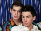 Sweet Twink Colby London Is Sucking a Lollipop and Talking In the Bedroom With Jayden Ellis. They're Both Totally Hot and They're Going to Fool Around and Eventually Share a Passionate Hardcore Bareback Fuck. It Starts With Delicious Kissing and They're Both Lost In the Passion of the Scene. the Way Their Tongues Dance and the Way Their Bodies Move You Can Tell They're Really Into It and Hoping to Get Each Other Off. of Course the Action Includes Bareback Anal Sex and Colby Loves Taking It In Any Position He Can Get It. They All Look Awesome, Especially the Naughty Bareback. When the Hot Twinks Are Ready to Finish They Masturbate Together and Two Loads Spill on the Sexy Tummy of Colby.