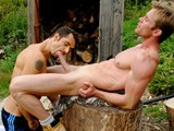 a Hot and Sweaty Outdoor Session, With Super Fit Dean Pleasuring Straight Muscle Stud Neil, Sucking His Massive 8.5 Inch Uncut Dick, Then Rimming His Str8 Virgin Arse. Then Neil Stretches Deans Hole With Two Fingers, Then Fucks Him Hard In Different Positions, Before Cumming In His Face.