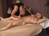 gay porn Rusty Gets Sexplored || Chad Continues on With the Erotic Massage as He Makes His Focal Point to Be Rusty's Big Cock. Stroking and Sucking, It Gets More and More Rigid. Rusty Is Truly Enjoying It and Cannot Remain Still!