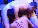 Gay Porn from StrongMen - Trio-Hard-Sex