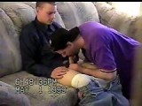 gay porn Steve Gets Sucked || Enjoy Watching This Twink Getting Sucked for the First Time by a Guy While Watching a Porn!