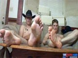 gay porn Cowboy Boots Cum || Cowboys Are Frequently, Secretly Fond of Each Other as We Discovered While Shooting This Hot Foot Fetish Video of Ty Frost and His Best Friend Lee Barstow. as These Two Hot Cowboys Remove Their Prized Cowboy Boots, Slip Their Tight Jeans Off and Masturbate Side by Side; Watch as Lee's Eyes Steal Glances of His Buddies Naked Body, Big Cock and Sexy Feet. These Two, Real-life Rodeo Riding Cowboys Prop Their Feet on a Coffee Table While Massaging Their Big Dicks as We Capture the Bottoms of Their Feet, Toes and Entire Naked Bodies Twitching and Shaking With Erotic Pleasure. Amazingly, Our Cowboys Cum At Almost the Same Moment, Shooting Massive Amounts of Jizz on Their Feet and Then Rubbing It In With Their Still Hard Cocks! Imagine the Sent of Sexually Charged Guys Mixing With the Smell of Boot-leather and Freshly Spent Cowboy Cum! Watch These 2 Cowboys Cum Now and See Lots More Hot Foot Fetish Videos and Photos Now At Toegasms - Click Banner for Free Tour!