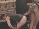 Antonio Biaggi Mercilessly Pounds Brandon's Hot Raw Muscle Hole.<br />