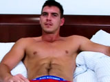 "gay porn Dan Broughton Sucks Ge || Since his first shoot Paddy has been one of our most popular models; he started with a solo, ventured on with larger and larger toys, was manhandled with a massage and today lets Danny be the first guy to suck his cock! Straight guys can be so un-predictable and today even Paddy admitted his fantasy ran wild once the blind fold went on! So safely blind folded Dan is playing the fantasy role of ""sexy kitten Sam"" and looking at how Paddy responds to gentle touches, body kisses, teasy squeezes then Paddy is well into his fantasy! When Dan tries to get Paddy's boxers off it is quite a challenge to unhook them from such a hard a erection and when Paddy's cock gets gobbled up in to Dan's mouth Paddy's cant hold back and fires off a couple of cum shots in the process. So we start three times, Paddy still gets hard to Dan's supreme cock sucking and before long he blows his final load down Dan's throat; Dan so turned on he gobbles it all up, whips out his own big uncut monster, stokes quickly a few times and unloads his cum all over Paddy's hairy legs! Wow; now where can you take us next time, Paddy?!"
