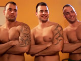 gay porn Triplets Laughing And  || Following the release of several hot medical-themed movies, this footage shows Jimmy, Joey, Jason, and their pal, laughing, playing, posing for the camera, having fun with their massive dicks, and playing doctor! The taking of rectal temperature IS required!