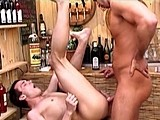 Gay Porn from mountequinox - Fucked-Raw-On-Beer-Keg-5