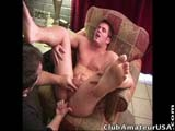 With Today's Video, I Kick It Up a Notch and Penetrate His Tight Hole With My Gyrating Finger, Having to Slow Down and Almost Stop a Couple of Times or He Was Going to Lose His Load Early On!