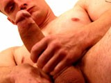 Stefan Stewart Jacks Off His Huge 9.5 Inch Cock and Shoots His Load