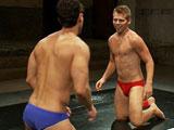 Gay Porn from nakedkombat - Mike-Rivers-Vs-Alexander-Garrett