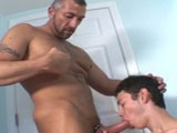 gay porn Kyle And Daddy Skip || Today We Have Two New Studs to Introduce. Meet Kyle Richards, a Cute Twink With an Asshole to Die For. Kyle's the Shy Type. but Never Underestimate the Shy Ones! Skip Vincent Is a Hot Daddy With a Very Nice Dick and Knows How to Use It. Skip Is Getting His Dick Sucked by Kyle. Skip Gets Lost In the Blowjob That He Starts Fucking the Fuck Out of Kyle's Pretty Boy Mouth. Soon His Huge Dick Is Deep Drilling Kyle's Tight Ass. Just as He's Getting Close He Fucks His Bitch Harder and Deeper Until He Pulls Out and Blasts His Cum Everywhere.