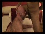 gay porn George And Pedro 1 || This Incredible Scene Starts Off With Big Daddy George In the Shower as Pedro the Masseur Watches Him Through the Trasnparent Blue Shower Curtain. Fresh and Ready, George Lays on the Bed While Pedro Positions Him and Oils Him Up for a Relaxing Massage. Soon Pedro Is Kissing and Rubbing His Cock on George's Backside, Spreading His Ass Cheeks Open and Closed and Pedro Is Getting Real Horned Up. It's Not Long Before the Massage Turns to Probing George's Ass With His Fingers, and Pedro Whips Out His Woody for George to Munch On. the Passion Heightens and It's Now George Servicing Pedro! R<br />