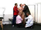 gay porn New Men Stripped And Initiated || Innocent Lads and New Masculine Men Are Stripped Down for Inspection Where Their Naked Bodies Are Probed and Violated by Authoritative Clothed Men At Cmnm. Assholes Are Exposed and Probed. These Naked Initiates Are Taught to Submit to Commanding Older Gentlemen.