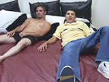 Straight Boys Jerk Off Present Frankie and Prestin