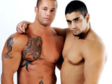 gay porn Matthew Rush And Angelo || You first met bodybuilder Angelo on the set of our Boston shoot, and during his first solo appearance he mentioned that he would love to do a scene with Porn Star Matthew Rush some day. Well, we sent Matthew Rush some pictures of Angelo, and he liked what he saw and this week youll see what happens when they hook up at our most recent shoot in Florida. They waste no time with small talk and our men start making out, sucking each others cock and eating each others massive muscle butt. Matthew pays extra attention to Angelos tight hole with his tongue, lubing him up for his massive throbbing missile. As Angelo lies on his stomach, Matthew glides his pulsing manstick inch by inch inside that tight round bubble ass. He pounds him doggystyle then flips Angelo over and hoists his legs in the air and plants his fat cock, deep inside Angelos hole. They just keep on fucking!