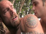 gay porn Jake And Jason Crew || <br />smooth, Ripped Spunk Jason Crew Is Already Inside Jake Deckard's Muscle Butt When We Find These Two Fucking In the Jungle. Jake (still In His Jock Strap) Is Moaning In Pleasure With That Big Tool Inside Him and Jason Really Doesn't Hold Back. After He's Well and Truly Pounding His Buff Bottom's Hole, He Leaves a Thick, Creamy Load on His Hairy Butt Cheek In Thanks.