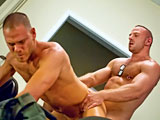 gay porn Fit For Service || Making sure our servicemen are Fit for Service is a tough job. Luckily there are the skilled medics whose crackerjack training has prepared them to properly treat the soldiers...and their privates.