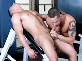 gay porn Gym Fuck: Topher Dimaggio And  || Welcome to the third of four movies in our &quot;Gym Fuck&quot; series. This week we will be updating the site 2 times. Thursday we will release the sex scene. Saturday we will release Topher's workout tape. This week, Topher DiMaggio takes us a hot upper body workout. The sex in this video is some of the hottest stuff we've filmed. Just watch Shane get absolutely pummeled by Topher!