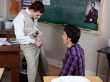 gay porn Plugs From The Teacher || Sometimes This Naughty Teacher Wade Warren Takes Advantage of His Horny Gay Student Skylar West by Asking Them to Stay After Class for a Lesson In Sexuality. This Brunette Pretty Boy Is Soon on His Knees Gobbling Teacher Cock and Dreaming of What It Would Feel Like to Get Rammed In the Ass. He Won't Have to Wait Long for That as He Gets Taken Missionary and Doggy Style.