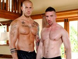 gay porn Huge Beefy Muscle Fuck || Massive 6 Foot 4 Skinhead Bodybuilder, Harley Everett, Pushes New Beefy Muscle Cub Scott Hunter to His Limits... Throat Fucking, Deep Arseplay and Extreme Hard Fucking.. Then Harley Spunks a Massive Load Into Scotts Mouth.