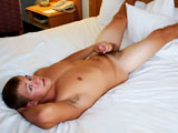 gay porn Blonde Haired Tony Aus || 'On a recent recruiting trip, we discovered blonde / blue-eyed Tony Austin and he was all too willing to get naked for us. This 20 year old was horned up and all too eager to blow a load for us during the shoot. Watch him slowly stroking his fat dick, carefully tugging on the mushroom head. He does a quick flex for us while his dick was poking straight up and then lays on his back, legs spread and propped up on the headboard. When he asks his viewers 'you want me to fuck you, don't 'cha?' I blow my load...every time. Get your load off this weekend...courtesy of ManAvenue's newest discovery, Tony Austin.