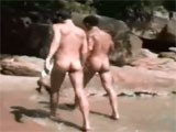 Gay Porn from WankOffWorld - We-Fucked-On-Public-Beach